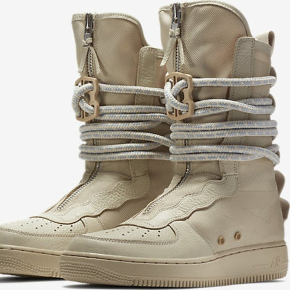 low cost 1cdca 444fd NIKE SF AF1 AIR FORCE 1 SPECIAL FIELD HIGH RATTAN NWT
